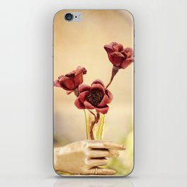 Red Beauty iPhone Skin