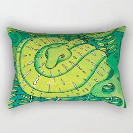 Noah's Ark - Emerald Tree Boa Rectangular Pillow