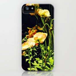 Poppies in Backlight II iPhone Case