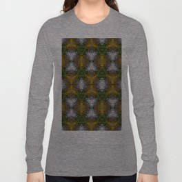 Abstract flowers Long Sleeve T-shirt