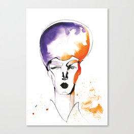 Butch Queen with Fabulous Hair Canvas Print