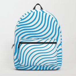 Whiskers - Blue #324 Backpack