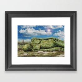 Strandsensationsfund Framed Art Print