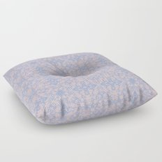 Light pink and blue tapestry 4635 Floor Pillow
