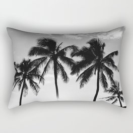 Hawaiian Palms II Rectangular Pillow