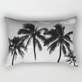 Hawaiian Palms II Rectangular Pillow