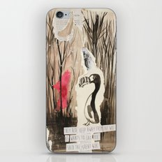Little Red and Great Auk iPhone & iPod Skin