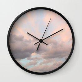 Milkshake Sky Wall Clock