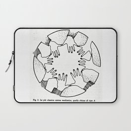 A Psychic Chain Closed Laptop Sleeve