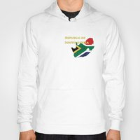 south africa Hoodies featuring Republic of South Africa by Dandy Octopus