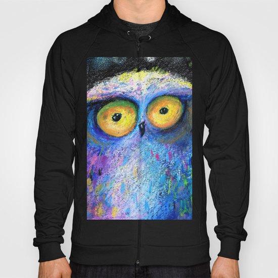 deep night owl Hoody