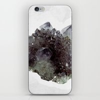 mineral iPhone & iPod Skins featuring Mineral by .eg.