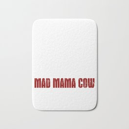 Mad Mama Cow Bath Mat