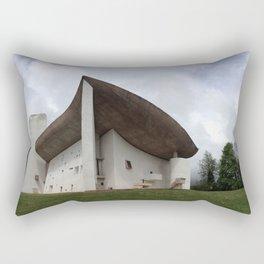 Chapelle Notre-Dame-du-Haut | Le Corbusier Rectangular Pillow