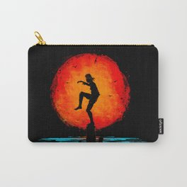Minimalist Karate Kid Tribute Painting Carry-All Pouch