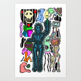 TLF....TSA Art Print