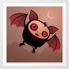 RedEye the Vampire Bat Boy Art Print