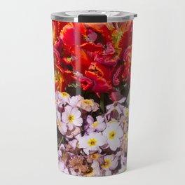 Flowers in town Travel Mug