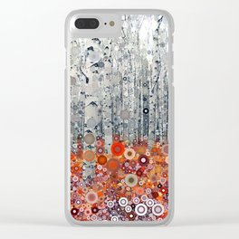 :: Run Free Woods :: Clear iPhone Case