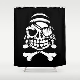 Jolly Pirate Shower Curtain