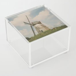 A mill in rural The Netherlands Acrylic Box