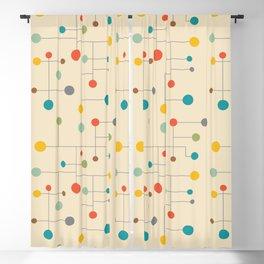 Mid-Century Dots Pattern Blackout Curtain