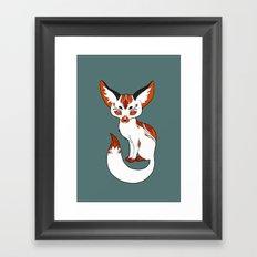 Mysterious Fox Framed Art Print