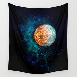 Mars and Luna Wall Tapestry