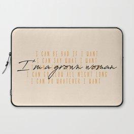 Grown Woman Laptop Sleeve