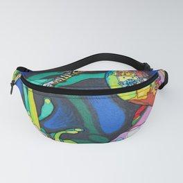 Rainbow Seahorse Fanny Pack