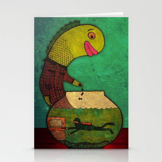 one lost soul Stationery Cards