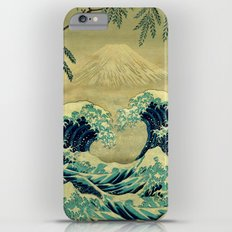 The Great Blue Embrace at Yama iPhone 6 Plus Slim Case