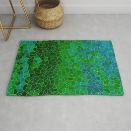 Mosaic Forest Rug