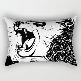 Bears and Mountains Rectangular Pillow