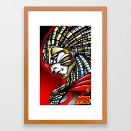 Dr. Zero Framed Art Print