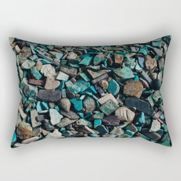 Turquoise & Teal Rectangular Pillow