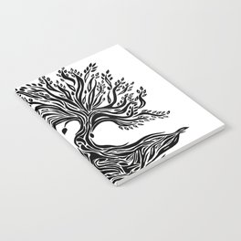 Roots and Leaves Notebook