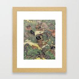 Mu Guai and the Tiger's Eye, Panel 5 Framed Art Print