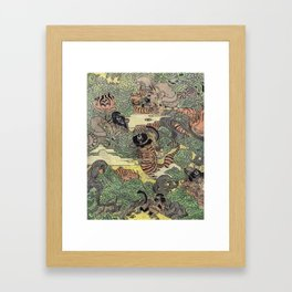 Mu Guai and the Tiger's Eye, Panel 5 Framed Art Print