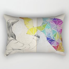Galaxy Creator Rectangular Pillow