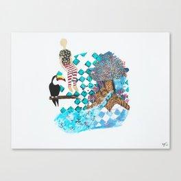 My Imaginary Spot Canvas Print