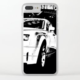 Tough and Proud Clear iPhone Case