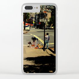 Boxes And Boxes  Clear iPhone Case