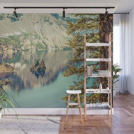 Crater Lake Oregon Phantom Ship Island Wall Mural