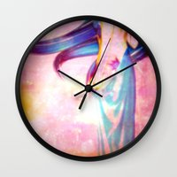 body Wall Clocks featuring Body by haroulita