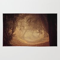 narnia Area & Throw Rugs featuring Where's the white rabbit?  by Sparks of Fire