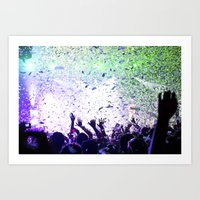 concert Art Prints featuring Concert by Danielle Sheridan Photo