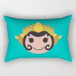 Surakarta Traditional Headdress Rectangular Pillow
