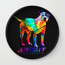 American Staffordshire Terrier - Amstaff Wall Clock