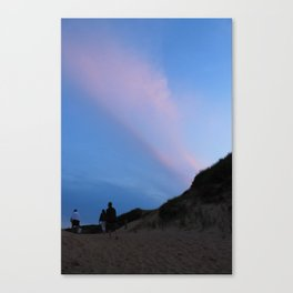 Longnook Sunset Canvas Print
